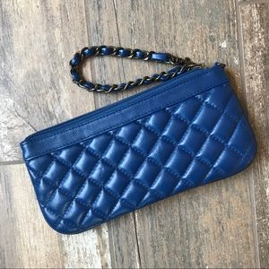 Old Navy quilted convertible wristlet wallet
